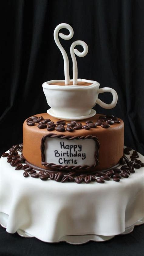 Forget the tea and cake here and serve this with a glass of sherry. Coffee themed cake Renee's WICKED Good Cakes Like us on facebook!   Renee's WICKED GOOD Cakes in ...