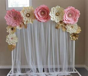 Milanas paper flowers set Amazing set for your celebration It covers perfectly our stand and