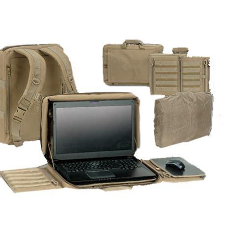 Tactical Desk by Deluxe Laptop Backpack Desk