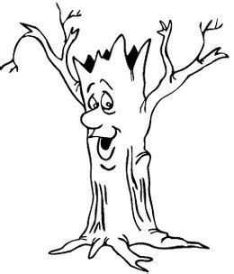 tree trunk clipart black and white tree trunk coloring page clipart best