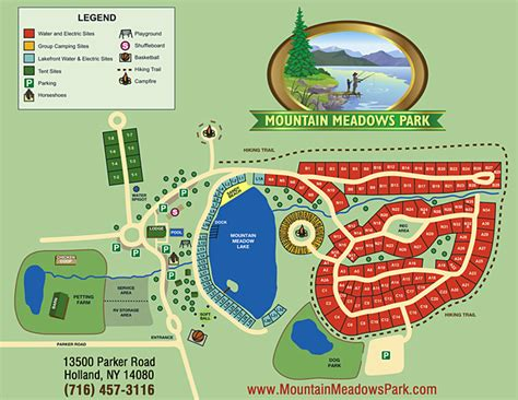 Pelland Advertising  Campground And Resort Site Maps