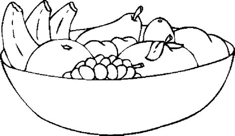 fruit bowl clipart  clip art