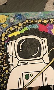 Trippy astronaut painting in 2020   Trippy painting ...