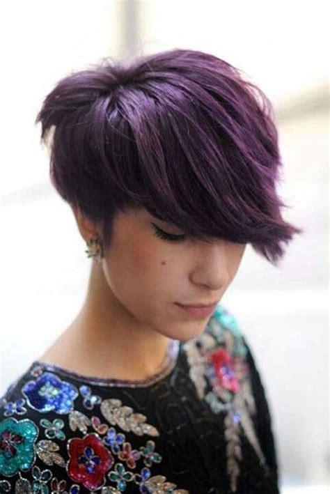 bunte haare kurz 13 kurzhaarfrisuren mit h 252 bschen farben corte de pelo