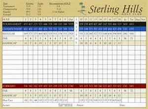 Scorecard | Golf Scorecards | Page 13