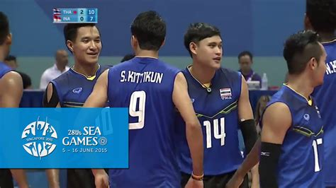 volleyball mens team semi final tha  ina  sea