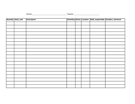 free blank spreadsheet templates 6 best images of free printable blank spreadsheet templates printable blank excel spreadsheet