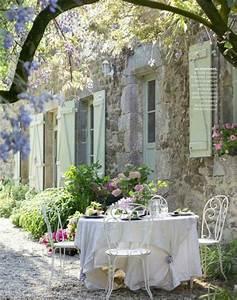 fur die romantische all white party zu zweit shabby chic With französischer balkon mit shabby chic deko garten