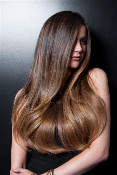 balayage   ombre dark brownchestnut brown hair