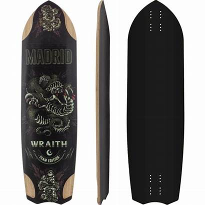 Madrid Wraith Longboard Skateboard Complete Custom Muirskate