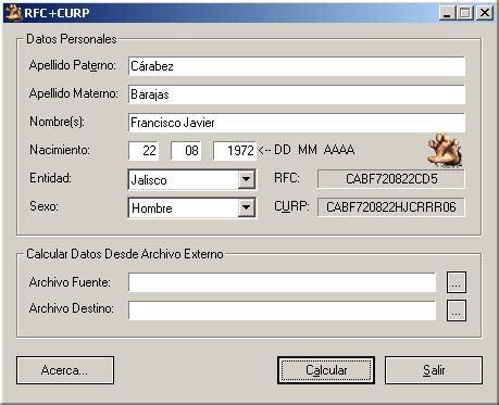 Ahora podrás buscar tu curp por nombre y demás datos personales en el siguiente sitio oficial del. Rfc y la curp | Tramitar la Curp Consultar Descargar e ...