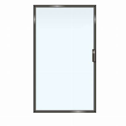Shower Framed Glass Doors Door Single Wall
