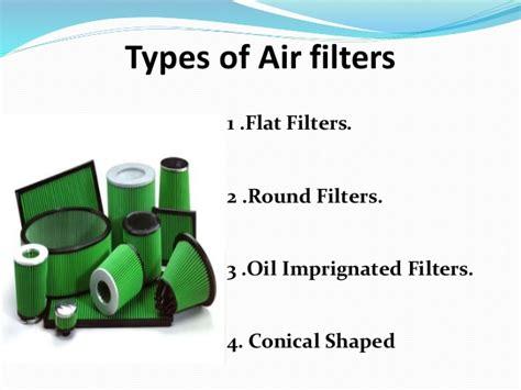Air Filter Seminar Ppt
