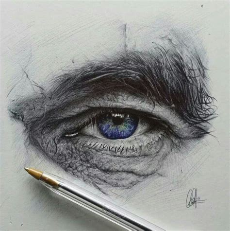 beautiful  realistic pencil drawings  eyes art
