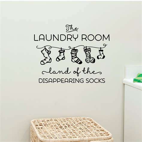 land  disappearing socks wall quotes decal wallquotescom