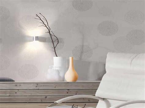 canapé d angle blanc et gris le papier peint confirme sa tendance déco