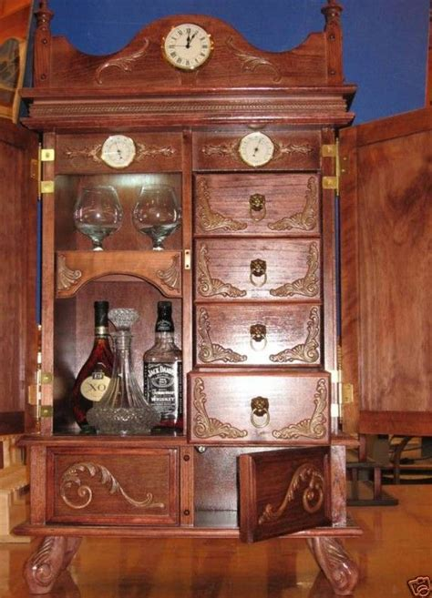 antique humidor cabinet for sale antique style cigar humidor brandy liquor cabinet 500b