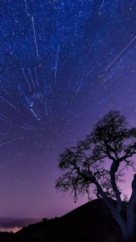 night landscape universe stars iphone wallpaper iphone