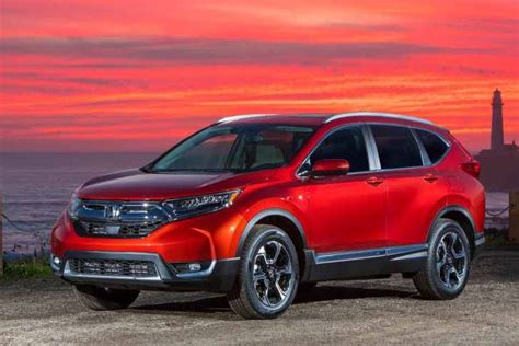 The New Honda Cr-v Is An Impressive Suv With Lots Of Tech
