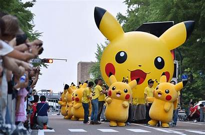 Pokemon Japan Pikachu Parade Egypt Much Event
