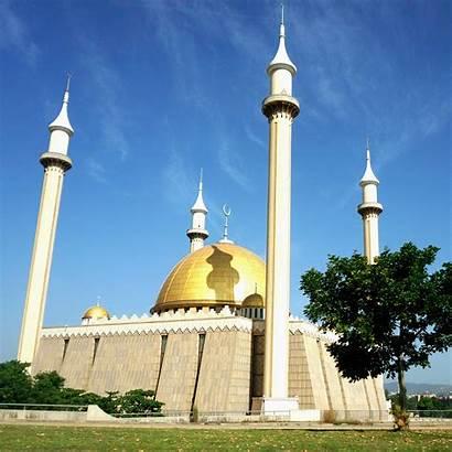 Nigeria Abuja Mosque National Travertino