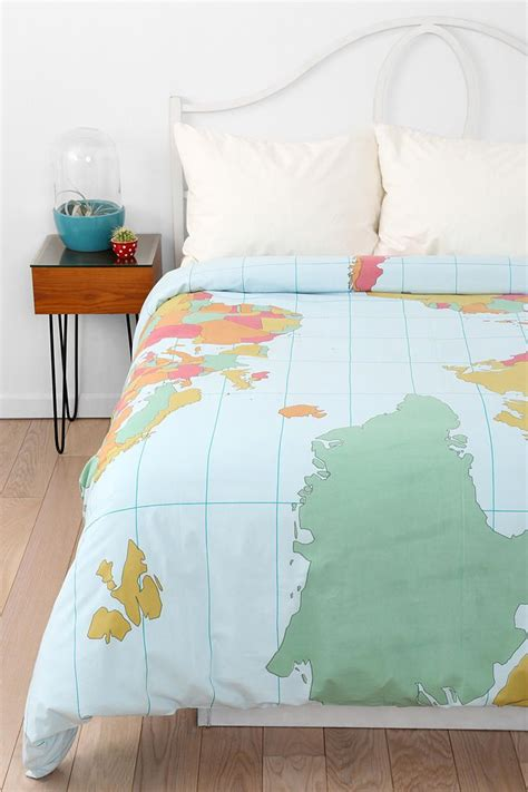 world map duvet cover 17 best images about a s home the bedroom on 1658