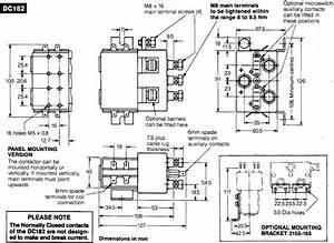 Albright Dc Contactor  Model  Dc182b