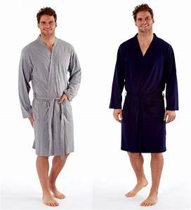 Bademantel Herren Xxl : herren leichte polyester baumwolle trikot bademantel kimono robe m xxl ebay ~ A.2002-acura-tl-radio.info Haus und Dekorationen