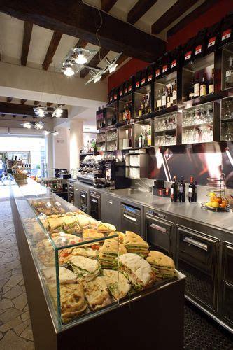 le malve parma  counter display coffee shop ideas