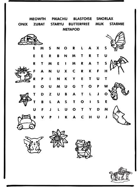 pokemon puzzle  puzzle