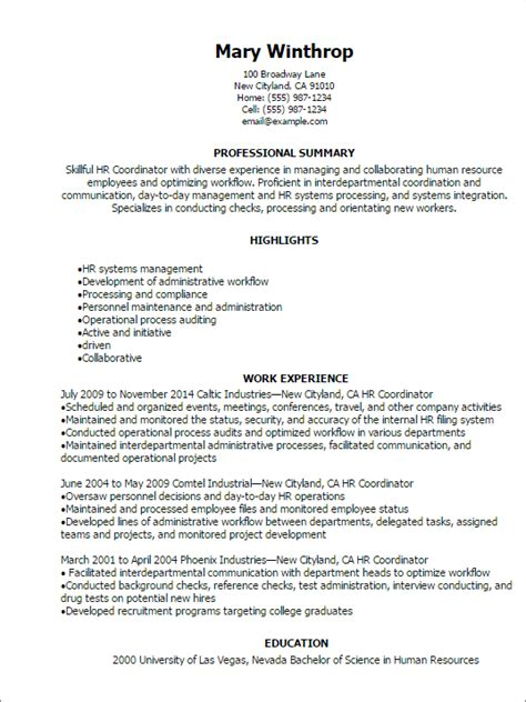 Hr Coordinator Cv by Diverse Experiences Resume How To Tailor Your Cv When