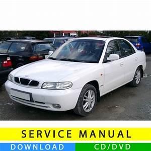 Daewoo Nubira J100  J150 Service Manual  1997