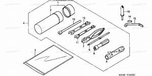 Honda Atv 2001 Oem Parts Diagram For Tools