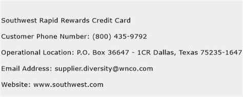 southwest customer relations phone number southwest rapid rewards credit card customer service phone