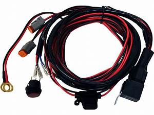 Rigid Industries D2 Series Wiring Harness For D2 Pairs 40196 Wiring Diagram