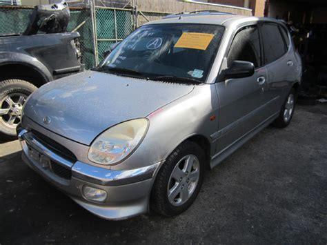 Daihatsu Sirion I Gtvi 1.3i -m- Silver. Wrecker Sydney