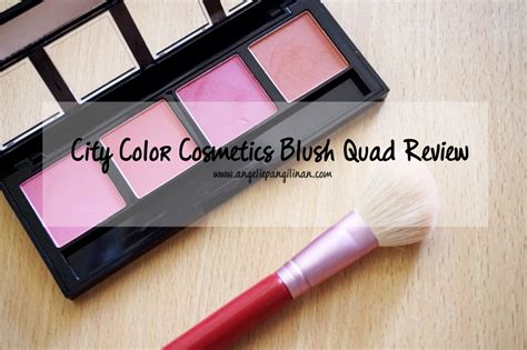 city color cosmetics review city color cosmetics blush review my cup of tea