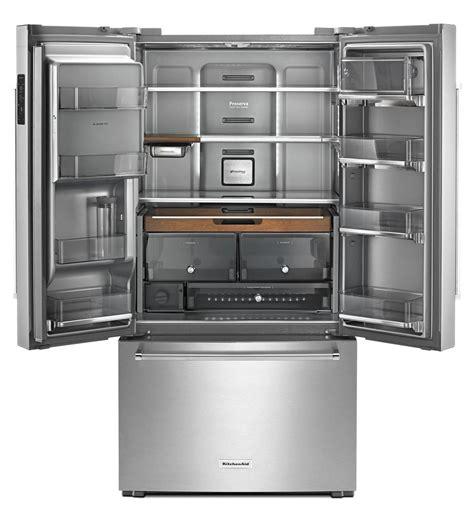 refrigerator door counter depth kitchenaid 23 8 cu ft counter depth door