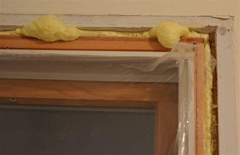 Basement Framing Diy by Spraying Foam Around The Windows 171 Home Improvement Stack