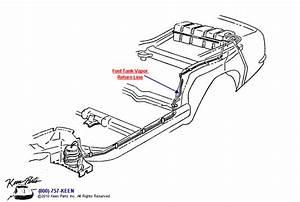 1969 Corvette Vapor Return Line Parts