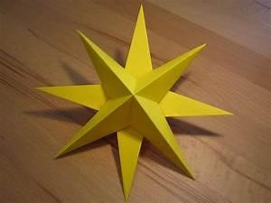 Sterne Aus Papier Falten : 3d stern kreative sterne aus papier basteln ~ Buech-reservation.com Haus und Dekorationen