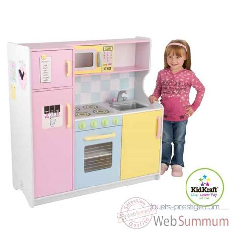 grande cuisine kidkraft grande cuisine pastel kidkraft dans cuisine enfant