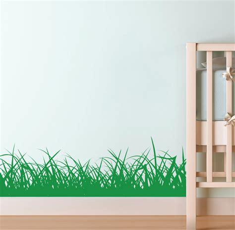 grass border wall sticker kids nursery art decals k2 ebay