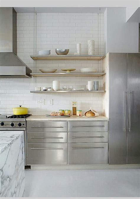 stainless shelves industrial kitchen pinterest dpages a design publication for lovers of all things