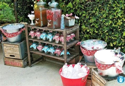 picnic style baby shower guest feature celebrations