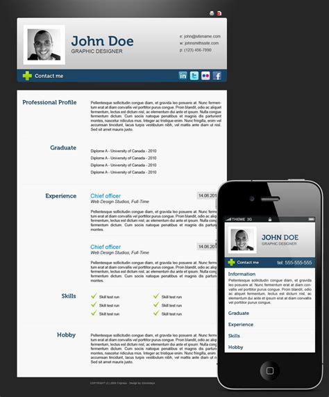 54 impressive and well designed resume exles for
