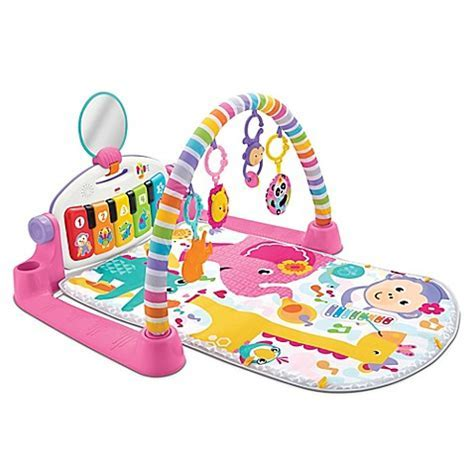 Fisher Price® Deluxe Kick and Play Piano Gym in Pink buybuy BABY