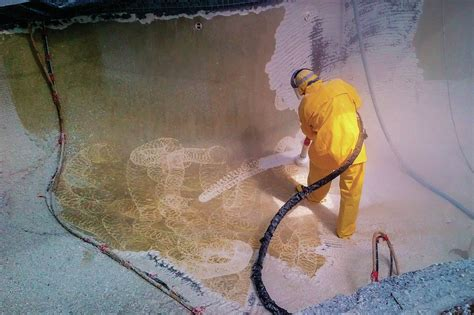 water jetting pool spa news plaster construction