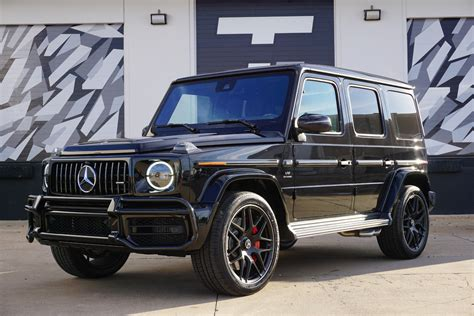 Folding the second row increases maximum amg trail package (amg g 63 only): Used 2020 Mercedes-Benz G-Class AMG G 63 For Sale ($204,900) | Tactical Fleet Stock #TF1443