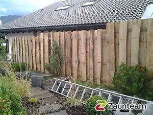 Sichtschutzzaun Selber Bauen : perfekt holzsichtschutz holz sichtschutz selber bauen ~ Lizthompson.info Haus und Dekorationen